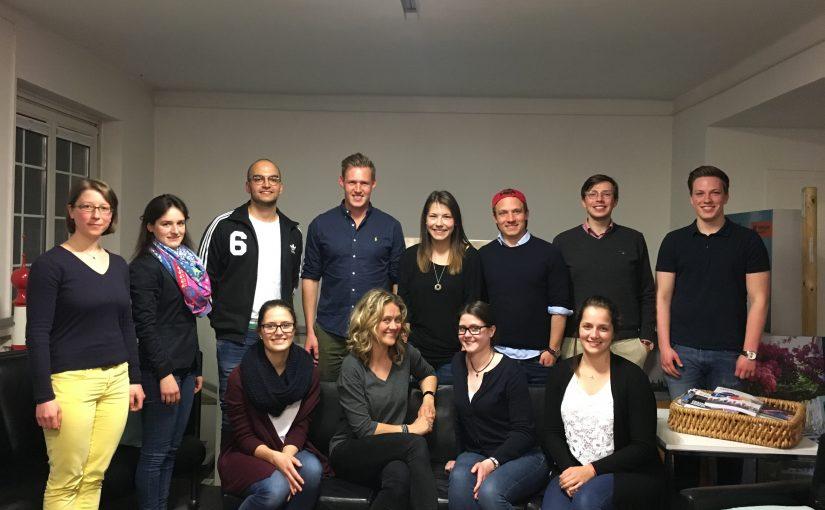 Besuch von Moderatorin und Standup-Comedian Lisa Feller